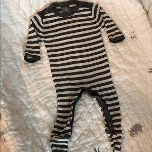 Kate Quinn Organics knitted footed one piece